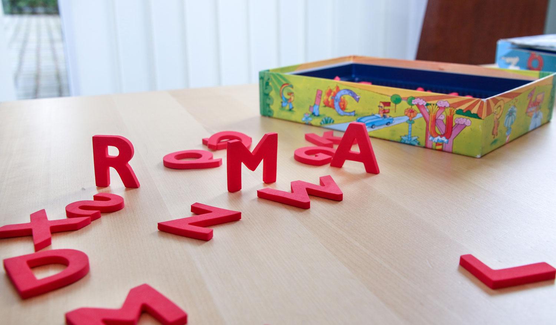 Buchstaben Spiel